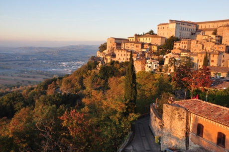 in the heart of the boot: umbria region