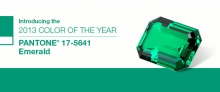 emerald stone - colour of the year 2013